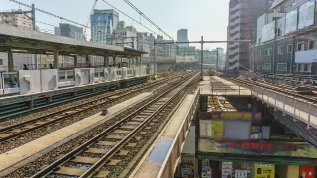 Time Lapse : Akihabara JR Station in Tokyo , Japan