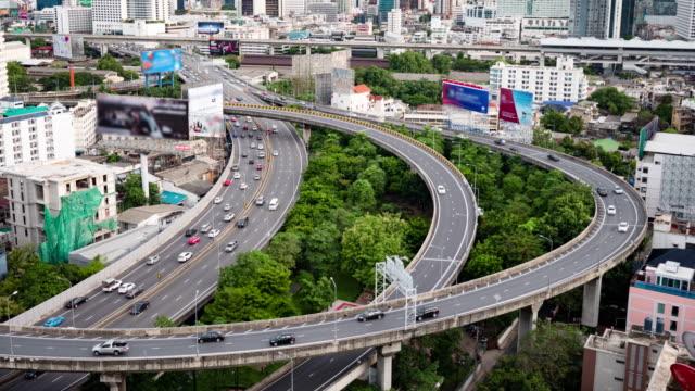 Time lapse at Bangkok city Asia Thailand