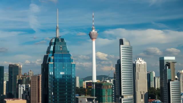 Time Lapse at Kuala Lumpur City