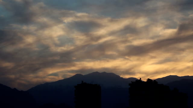 Time lapse at sunset in Antalya, Turkey