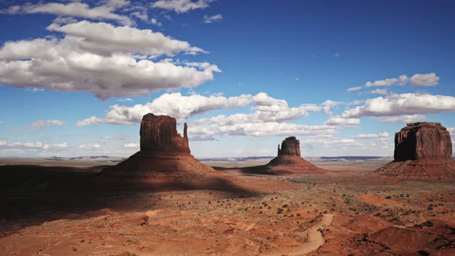 time lapse at the monument valley - monument valley stock videos & royalty-free footage