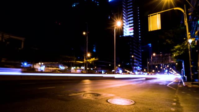 Time lapse Bangkok City at night. Concept: Landmark ,travel.