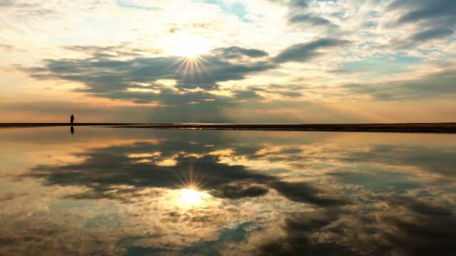 time lapse: beautiful landscape of seto-uchi - dusk stock videos & royalty-free footage