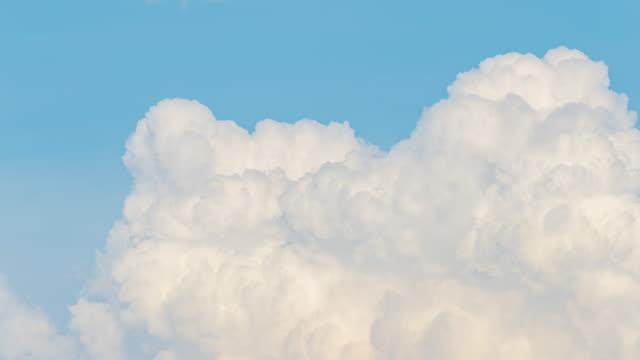 time lapse beautiful sky clouds - cumulonimbus stock videos & royalty-free footage