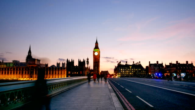 4k time lapse big ben and westminster abbey in london, uk - big ben stock videos & royalty-free footage