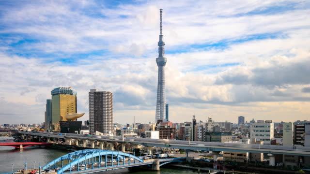 4 K 低速度撮影:忙しい東京