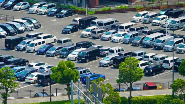 時間経過の駐車場 - 駐車点の映像素材/bロール