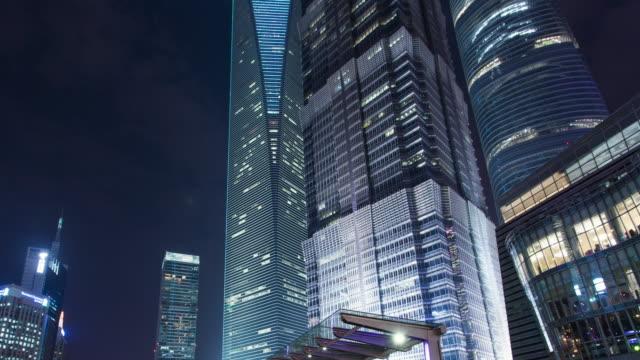 Time Lapse -China Shanghai landmark