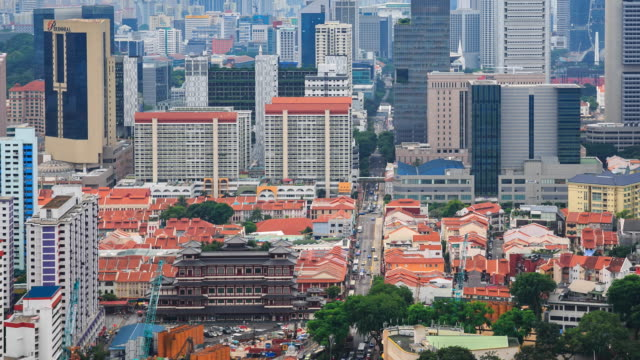 4k time lapse : chinatown in singapore - antiquities stock videos and b-roll footage