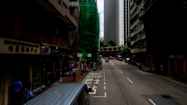 HD Time lapse : City life in Hong Kong.
