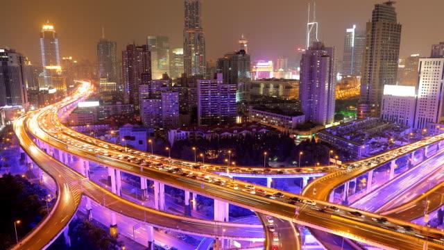 Time Lapse - City Traffic at Night