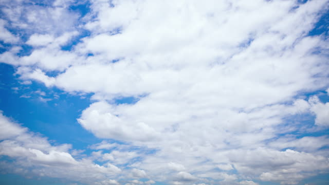 time lapse; clear blue sky white clouds - mckyartstudio stock videos and b-roll footage