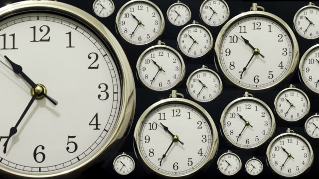 time lapse clock with time going forwards then backwards - time stock videos & royalty-free footage