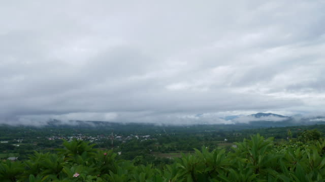 time lapse, cloud and mountain view - myanmar stock videos & royalty-free footage