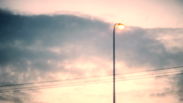 time lapse: cloud flying fast in the sky