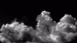 Time Lapse Clouds Background
