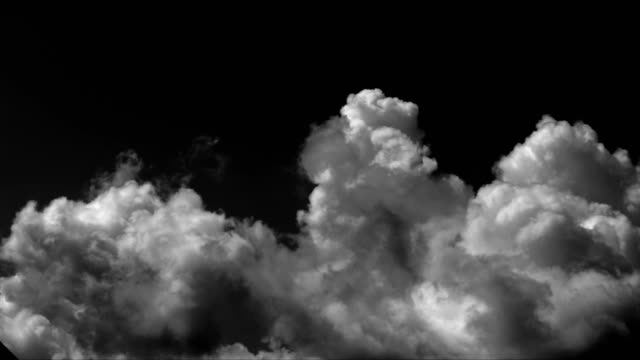 time lapse clouds background - black background stock videos & royalty-free footage