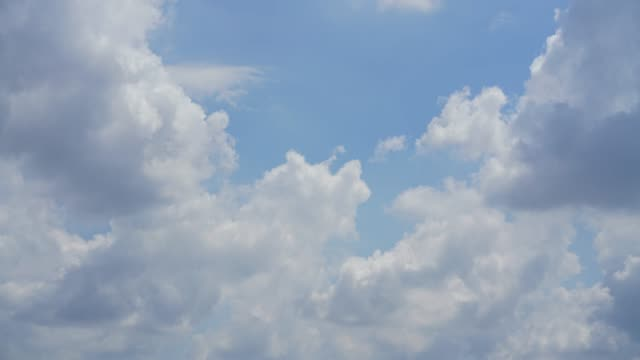 time lapse cloud-sky motion moving on day time. - stratocumulus stock videos and b-roll footage