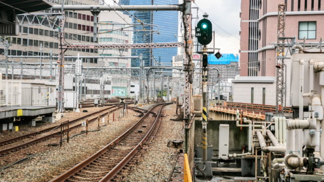 4 K time-lapse: menigte in JR Osaka Station