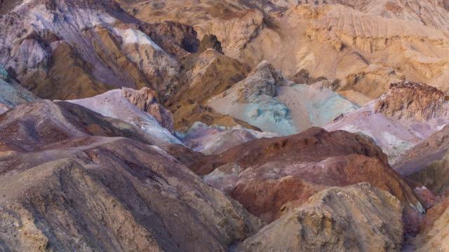 vídeos y material grabado en eventos de stock de time lapse death valley national park, california, usa - parque nacional death valley