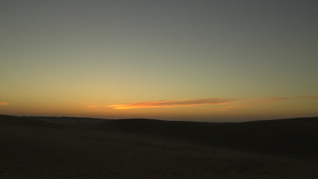 Time Lapse Desert Sunrise Jodhpur Rajasthan India