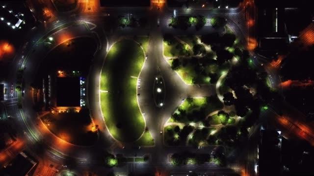 time lapse do centro de boa vista - cidade stock videos & royalty-free footage