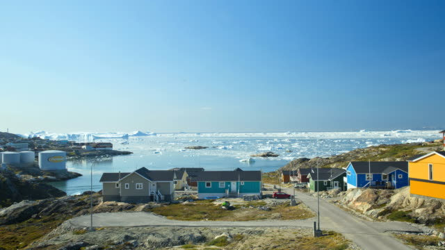 time lapse drifting ice floes climate change greenland - eco tourism stock videos & royalty-free footage