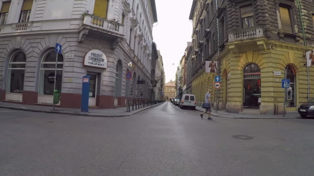 Time Lapse: Driving Through the Streets of Budapest