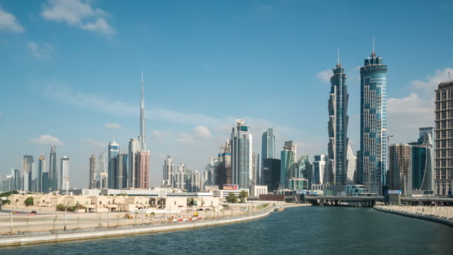 Time Lapse Dubai Skyline