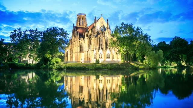4k Zeitraffer : Feuersee und Johannes-Kirche