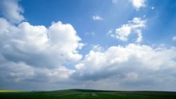 Time Lapse footage of beautiful landscape.
