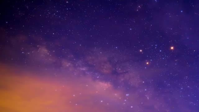 time lapse footage of milky way - star trail stock videos & royalty-free footage