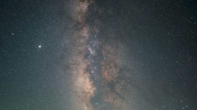 time lapse footage of portions of the milky way passing across the sky - satoyama scenery stock videos & royalty-free footage