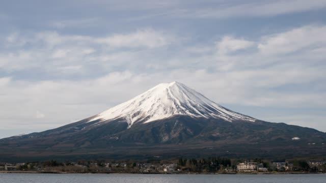 時間経過の富士の山 - 山梨県点の映像素材/bロール