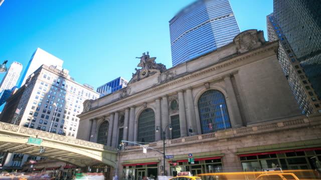4 K Zeitraffer: Bahnhof Grand Central Station