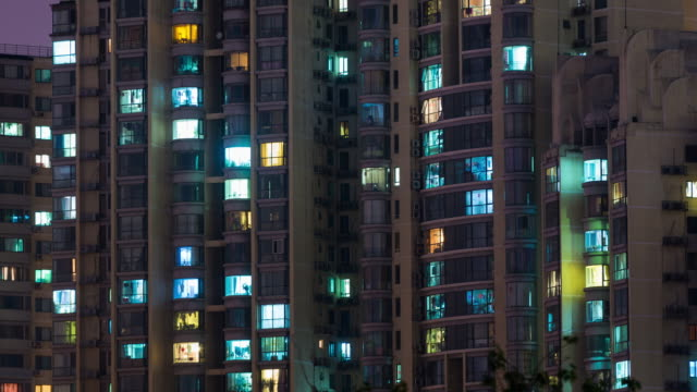 Time Lapse- Grid Apartment in Beijing (Zoom)
