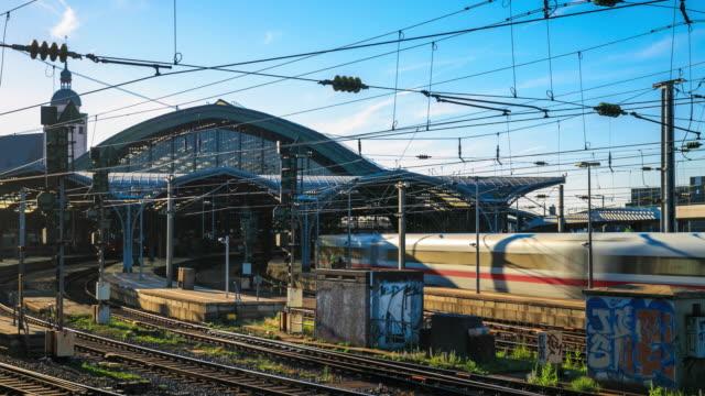 4k Zeitraffer : Hauptbahnhof