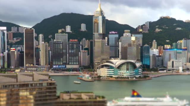 time lapse : hong kong, a city of prosperity shipping boat - prosperity stock videos & royalty-free footage