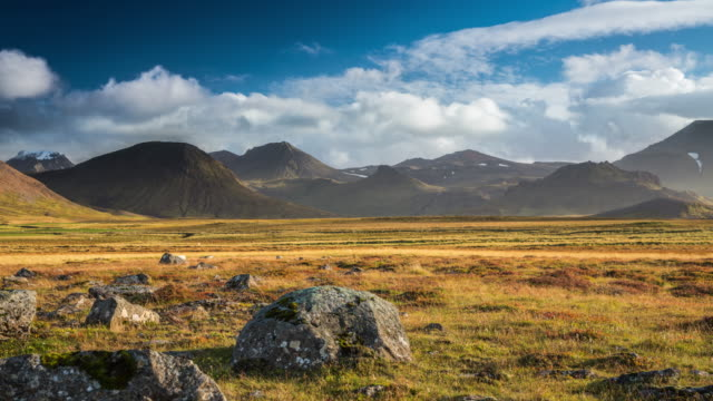 Time Lapse: Iceland Landscape at Snaefellsnes