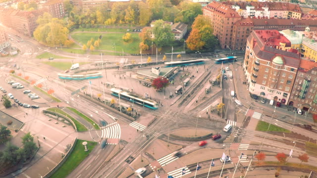 Time Lapse in Gothenburg City Sweden