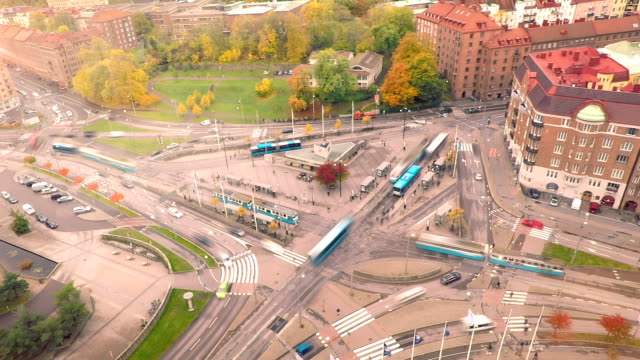 Time Lapse in Gothenburg City Sweden