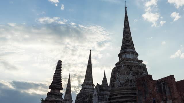 Time Lapse Wahrzeichen alte Tempel