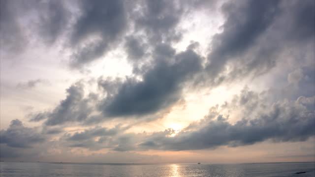 Time lapse landscape Sunrise Beach