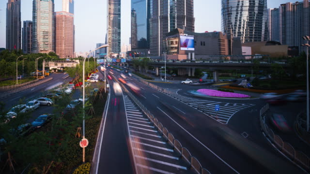 Time Lapse - Lujiazui Shanghai finance and Trade Zone