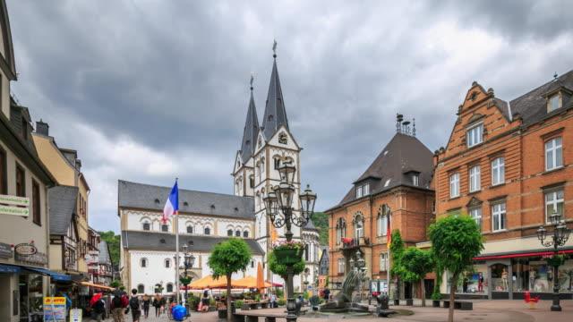 4 K Zeitraffer : Markt in Boppard