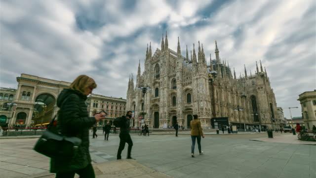 Zeitraffer: Mailand Kathedrale