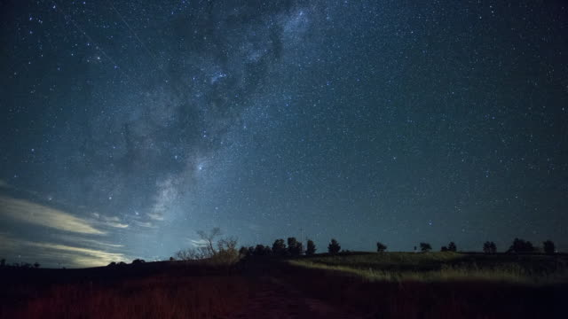 time lapse milky way - new south wales stock videos & royalty-free footage