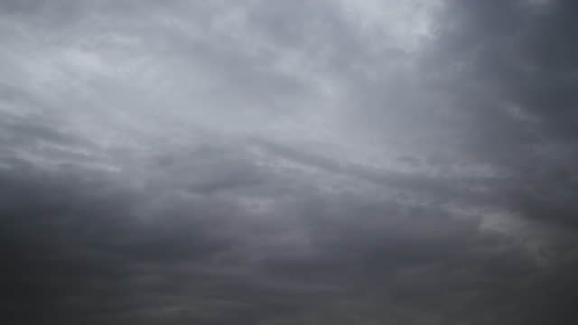 time lapse misty storm clouds, darkening the scene - sequential series stock videos & royalty-free footage