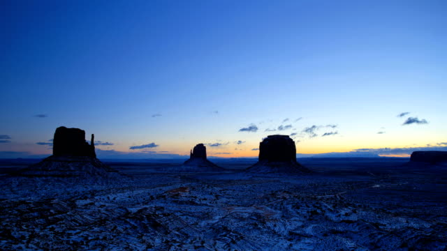 time lapse monument valley mittens colorado plateau utah - colorado plateau stock videos & royalty-free footage