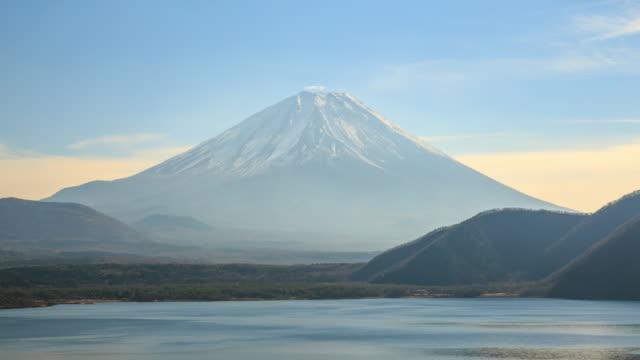 Time lapse: Mount Fuji in Japan